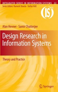 Image of Design research in information systems : theory and practice